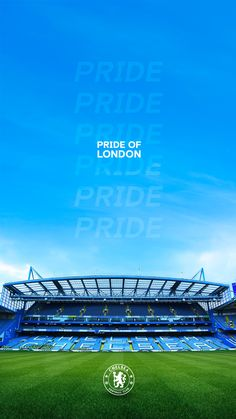Chelsea Stadium, Chelsea Football Club, Fc Chelsea, Chelsea Wallpapers, Chelsea Fc Wallpaper, London Pride, Christian Pulisic, Iphone Wallpaper Sky, Soccer Poster