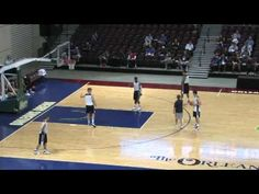 "Gonzaga University head coach, Mark Few, has led the Bulldogs to 18 consecutive NCAA Tournament berths In this clip, Coach Few shows you his ""Bu. Youth Basketball Drills, Basketball Videos, Basketball Plays, Basketball Coach, Basketball Conditioning, Gonzaga University, Sports Track, Ncaa Tournament"