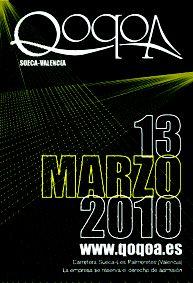 Flyer Qoqoa / www.feelingdesing.es