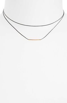 BP. Double Wrap Metal Bar Choker available at #Nordstrom