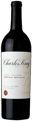 Charles Krug - Yountville Cabernet Sauvignon. Love.