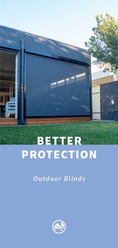 Outdoor Blinds, Pergola, Garage Doors, Patio, Outdoor Decor, House, Ideas, Home Decor, Decoration Home