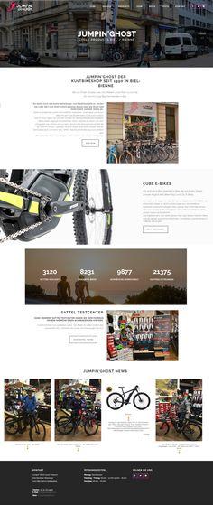 Jumpinghost - WordPress Webdesign & E-Commerce Biel Wordpress, Web Design, Shopping, Projects, Design Web, Website Designs, Site Design