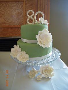 Ooh La La Cakes by Melissa: 80th Birthday Cake