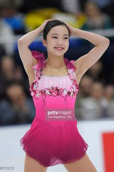 News Photo : Marin Honda of Japan looks on after the junior...