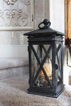 Lantern from Balsam #welcomehomesummertour