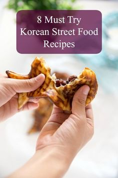 8 Must Try Korean Street Food Recipes Explore wonders of delicious Korean street food! Here I share 8 must try Korean street food recipes you can try in your own home. Easy, fun and delicious! Best Korean Food, South Korean Food, Food C, Good Food, Korean Kitchen, Around The World Food, Polynesian Food, Korean Street Food, Food Tags