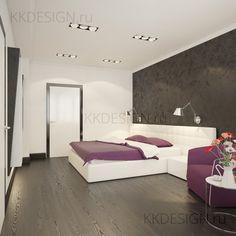 Minimalism bedroom \ black and white