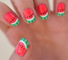 The 20 Hottest Nail Trends of Summer 2014 via Brit + Co.