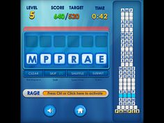 Play #WordRage. Test your knowledge of words!