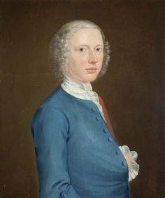 Arthur Devis - Portrait of the Artist. c.1737. oil on canvas.