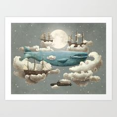 Behold, for when ocean meets sky, <br/> <br/> under the moon's watchful eye,<br/> <br/> tall ships...