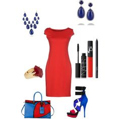 Spidey..... by campanellinoo on Polyvore featuring polyvore, fashion, style, Maiocci, Versace, Valentino, Kenneth Jay Lane, Blue Nile, Lola Rose and NARS Cosmetics
