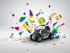 RENAULT TWIZY by Alexandra Bruel, via Behance