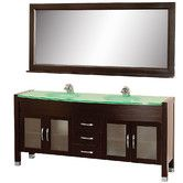 "Found it at Wayfair Supply - Daytona 71"" Double Bathroom Vanity Set with Mirror"