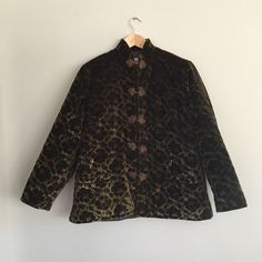 A personal favorite from my Etsy shop https://www.etsy.com/listing/259182047/vintage-lyre-bird-velvet-coat