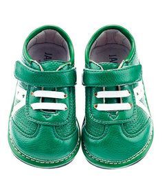 Another great find on #zulily! Green Star Trainer Sneaker by Jack & Lily #zulilyfinds