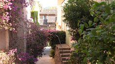 Blumenpracht an provenzalischen Häusern