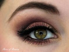 Roses of Beauty: Weihnachtlicher Look: Rot & Gold