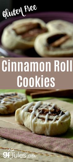 Gluten Free Cinnamon Roll CookieThese little gems melt in your mouth just like miniature cinnamon rolls, but take a lot less time to prepare and are easier to carry in lunch boxes!