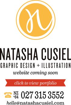 Natasha Cusiel - Graphic Design & Illustration