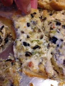 Pioneer Woman's Olive Cheese bread