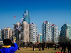 Qingdao, Sunday afternoon