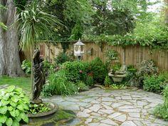 small gardens | gardens come in small packages, like this Buffalo Garden Walk garden ...