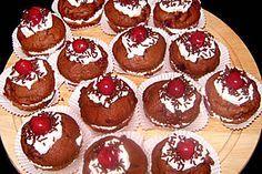 Schwarzwälderkirschmuffins