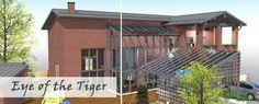 HOUSING TRADE FAIR 2015 VANTAA LIVINGROOM& CIRCLE POINT. Eye of the Tiger BLOG. asuntomessut.fi/blog-eye-tiger