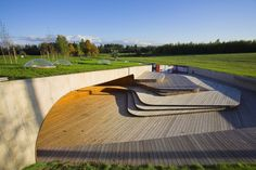 Open Air Exhibition Grounds of the Estonian Road Museum by Salto AB
