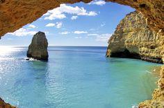 The Dramatic Coastline of Algarve, Portugal   International Bellhop Travel Magazine #travel