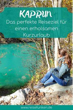 Kaprun | Österreich: Am Fuße des Kitzsteinhorn kannst du zu jeder Jahreszeit einen tollen Urlaub verbringen. Im Sommer kannst du hervorragend wandern gehen und im Winter auf dem Gletscher Skifahren. Im Herbst ist sogar eine Kombination aus all diesen Aktivitäten möglich, denn schon im Oktober liegt am Gletscher Schnee. Währenddessen kannst du aber auch am Stausee oder an der Sigmund-Thun-Klamm eine Wanderung unternehmen. Die Anreise ins Salzburger Land in Österreich ist auch mit dem Zug… Zell Am See, Reisen In Europa, Alps, Austria, Bergen, Mountains, World, Cover, Teenager