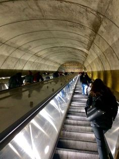 Bethesda Metro Escalators are 212 feet, the 2nd longest after the Wheaton metro station which is 220 feet.