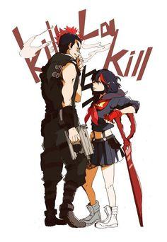 Kill la Kill - Tsumugu Kinase and Ryouko Matoi