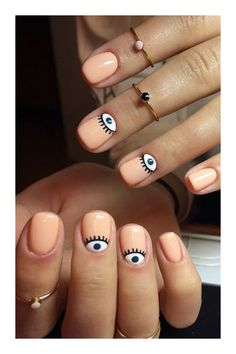 Semi-permanent varnish, false nails, patches: which manicure to choose? - My Nails Ongles Funky, Funky Nails, Cute Nails, Pretty Nails, Cute Nail Art Designs, Trendy Nail Art, Stylish Nails, Nagellack Design, Minimalist Nails