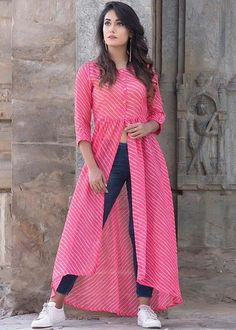 Party Wear Indian Dresses, Indian Gowns Dresses, Indian Fashion Dresses, Dress Indian Style, Indian Designer Outfits, Girls Fashion Clothes, Indian Dresses For Women, Stylish Kurtis Design, Stylish Dress Designs