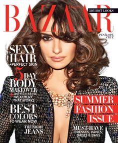 #magazine #cover #be_lola #style #fashion #inspiration #makeastatement #penelopecruz #HarpersBazaar