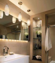 Bathroom Lighting Designs For good Modern Bathroom Design Clever Lighting Design Ideas