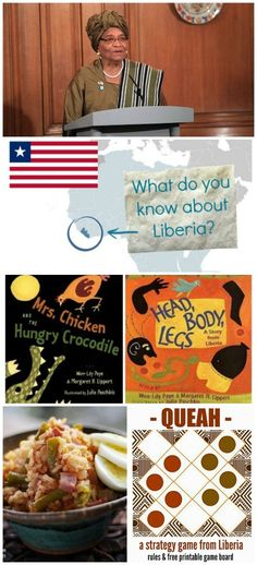 Learn about Liberia: great geography lessons for kids about this fascinating East African country. Save it for social studies unit when kids have to do their report on a country. Multicultural Activities, Activities For Kids, Teaching Tools, Teaching Kids, Student Centered Learning, Printable Board Games, Geography Lessons, Kids Around The World, Lessons For Kids