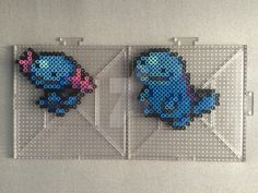 Perlers of Zubat, Golbat and Crobat I reallly REALLY love Crobat. While he isn't my fav, i still think he looks really friggen cool (: Perlers made using menusprites from Gen 6 as a reference. Poke...
