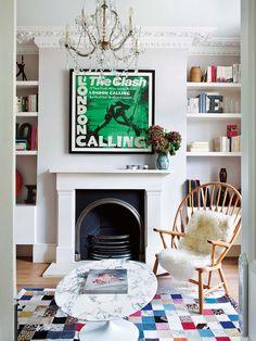 Esta casa londinense refleja el atractivo mundo de Fanny Moizant, una de las creadoras de la web de moda Vestiaire Collective. El mobiliario elegido con mimo por todo el mundo para un marco de...