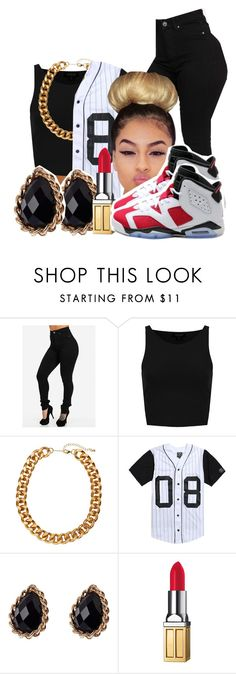 """Follow Her ⬇⬇"" by ravion-denay ❤ liked on Polyvore featuring Topshop, H&M, Civil, Adele Marie, Elizabeth Arden and NIKE"