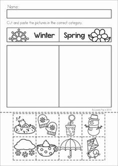 1000 images about pre k seasons weather calendar on pinterest seasons activities and worksheets. Black Bedroom Furniture Sets. Home Design Ideas