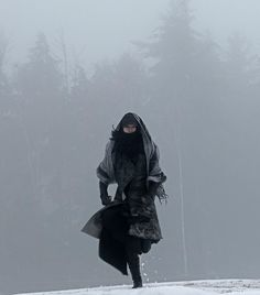 Yumiko booking it across the snow. Laser fire from Snow Moth strafing her. South by Southwest moment.