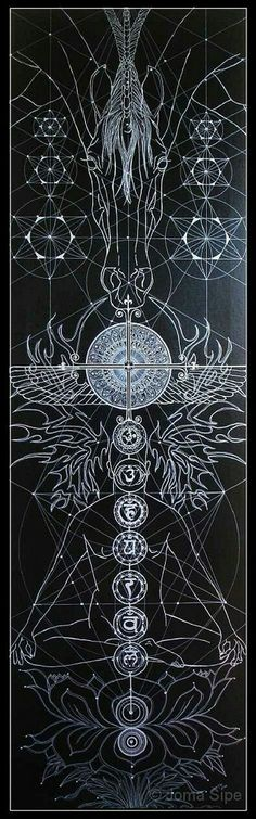 Joma Sipe Arte Simbolista e Visionária l Symbolist and Visionary Art Geometry Book, Sacred Geometry Art, Sacred Art, Geometry Tattoo, Art Ancien, Psy Art, Mystique, Visionary Art, Flower Of Life