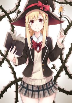 [Kawaii]Witch [Yamada-kun to no Majo] Anime Witch, 7 Witches Anime, Witch Manga, Anime Love, Beautiful Anime Girl, All Anime, Manga Anime, Anime Art, Anime Girls