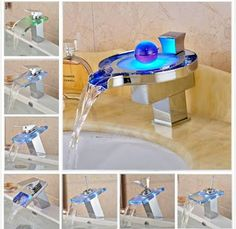 Luxury waterfall faucet