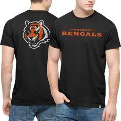 893e38d6e NFL Cincinnati Bengals  47 Brand Crosstown MVP Flanker T-Shirt - Black Nfl  Kansas