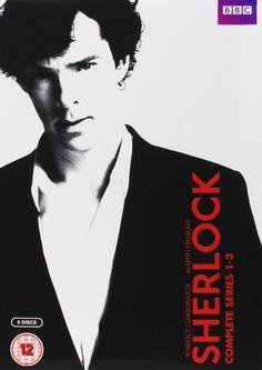 Sherlock - Series 1-3 [DVD] [2010]: Amazon.co.uk: Benedict Cumberbatch, Martin Freeman: DVD & Blu-ray